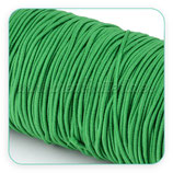 Cordón de goma verde hierba  2mm (4 metros)
