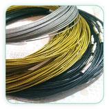 Correa gargantilla alambre de acero (10 unidades) COR-PW001