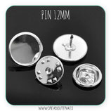 Pin camafeo 12mm