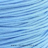 Cordón macramé 1mm  Calidad Suprema  Color Azul- bebé  (5 metros)