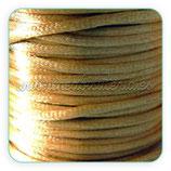 Cola de ratón color ocre-dorado rollo 50m