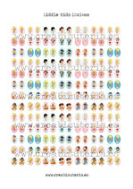 120 Imágenes Recortables Liddle kiddles paper doll 10x14mm