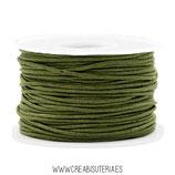 Cordón algodón encerado 1,5mm (4 metros)