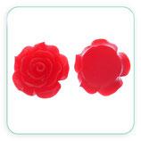 Cabuchón Resina Flor Roja 20x20mm (4 unidades) CABOOO-C38996
