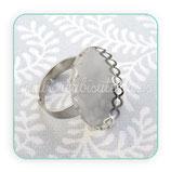 Anillo plata vieja ovalado 18x25mm CENEFA ANIOOO-C23861B