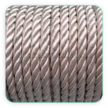 Cordón trenzado de Rayón crudo 6mm