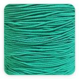 Cordón de goma verde azulado 1mm (15 metros)