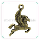 Charm animales- caballo Alas volando CHAOOO-C14775 (10 unidades)
