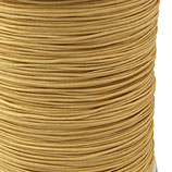 Cordón macramé 1mm  Calidad Suprema  Color champán/Dorado claro   (5 metros)