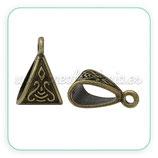 Entrepieza con ASA - EA-008- ornam bronce viejo  celta (10 piezas) ENTOOO-C02440