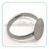 Base anillo plata vieja ANI-C16808