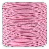 Cordón plastificado rosa bebé finito 1mm (4 metros)
