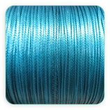 Cordón plastificado azul prusia 1mm (4 metros)