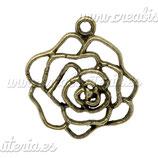 Colgante flor bronce viejo COLOOO-C13373