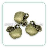 Charm Manzanita bronce antiguo CHAOOO-C10332 (10 unidades)