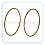 Aro BRONCE 003 - oval 24x13mm C691
