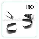 INOX - Clip inox para colgantes C17481  (10 unidades)