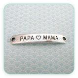 Conector pulsera mensaje de moda PAPA Y MAMA C36644m