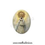 Cabuchón Cristal Religión - Virgen de Guadalupe España