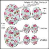 Imagen 03 Flor Vintage (estampado tela)