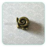 Entrepieza cuero caracol bronce viejo ENTOOO-C13445