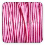 Cordón plastificado rosa 1,5mm (4 unidades)