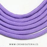 CESCALADA036 - Cordón de Nylon de Escalada  4mm  Modelo Lila (3 Metros)