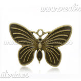 Charm mariposa 020 - COLOOO-C13827 - 10 unidades