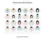 24 Imágenes Primera comunión 25x25mm