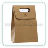 Caja almacenaje cartón - bolsa regalo -  craft (5 unidades) C71530