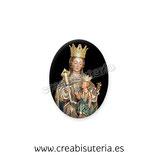 Cabuchón Cristal Religión - Virgen de la Victoria