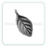 Hoja 2- 019 - plata vieja mini anilla perpendicular P15388 (10 unidades)