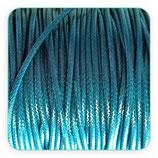 Cordón plastificado azul verdoso oscuro 2mm (4 metros)