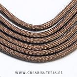 CESCALADA034 - Cordón de Nylon de Escalada  4mm  Modelo marrón (3 Metros)