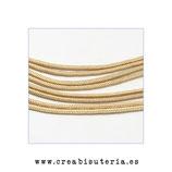 Cordón de Nylon de Escalada Redondo 2mm aprox. beis (3 metros)