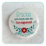Chapa - Gracias por hacer este día tan especial