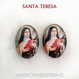 Cabuchón Cristal Religión - Santa Teresa
