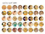 40 Obras Gustav Klimt 18mm
