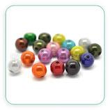 Abalorio acrílico simil perla COLORES VARIOS ACABADO PERLA  10mm ABA-C15696 (100 unidades)