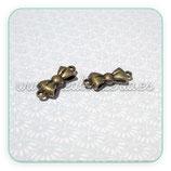 CONECTOR/A/037  lacito bronce redondeado CONOOO-C13325 (2 unidades)