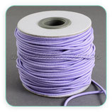 Cordón de goma lavanda  2mm (4 metros)