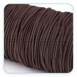 Cordón de goma marrón  2mm (4 metros)