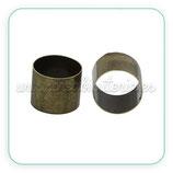 Tubo cobre cilíndrico bronce viejo TUB-C68840 (10 unidades)