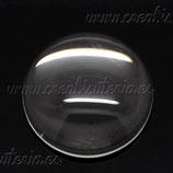 Cabuchón redondo 18 mm (10 unidades)