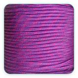 Cordón de Nylon de Escalada Redondo 3mm Morado y fucsia (3 metros)