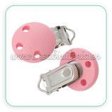 Chupetero madera color rosa CHU000-C36835