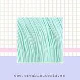 Cordón macramé COLOR azul bebé 1,2mm  - 5 metros