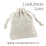 Bolsas saquito Lino (10 unidades)