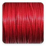 Cordón plastificado color rojo oscuro ladrillo  2mm (4 metros)