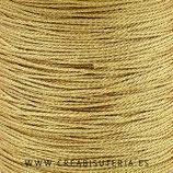 Cordón macramé metálico Dorado 1mm    (5 metros)